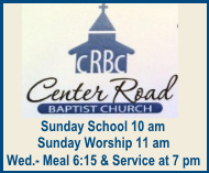Center Road Baptist Church