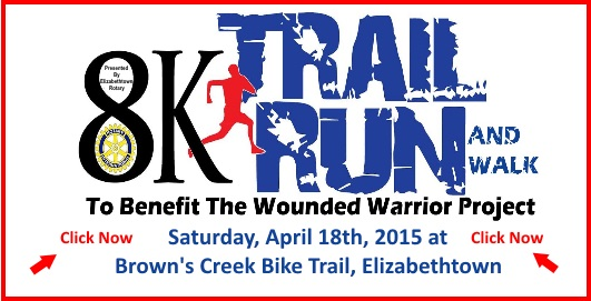 8K Trail Run and Walk to Benefit the Wounded Warrior Project
